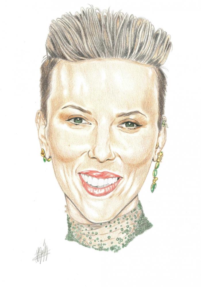 Scarlett Johansson by jjg2018
